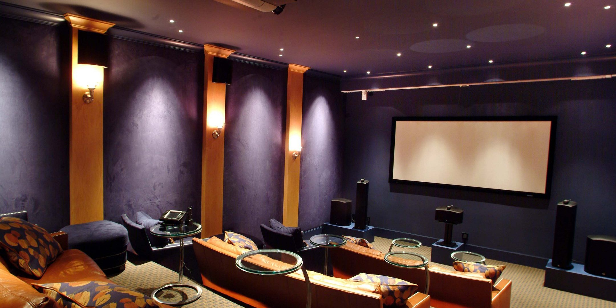 Home Theater Rooms Design Ideas 1000 Images About